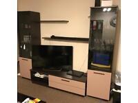 Living Room Furniture set/shelf cabinets tv unit bench