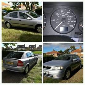 Vauxhall Astra 2001 1.6 (Petrol)