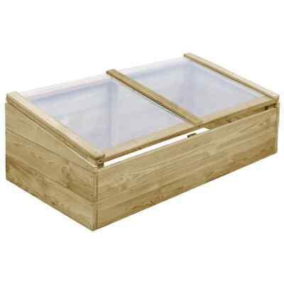 vidaXL Greenhouse Impregnated Pinewood 100x50x35cm Raised Bed Planter