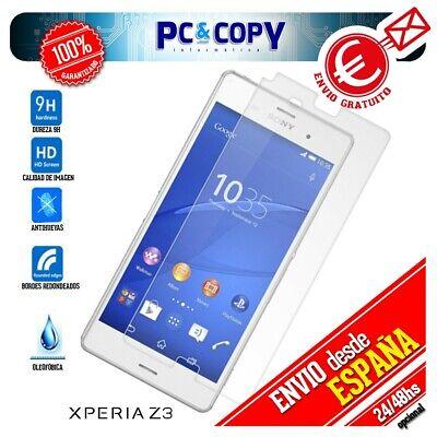 S461 Cristal templado protector pantalla Sony Xperia Z3 D6603 calidad Premium 9H