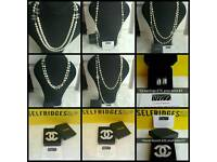 CHANEL BROOCH NECKLACE