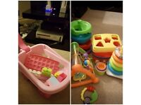 Bundle of baby to toddler items