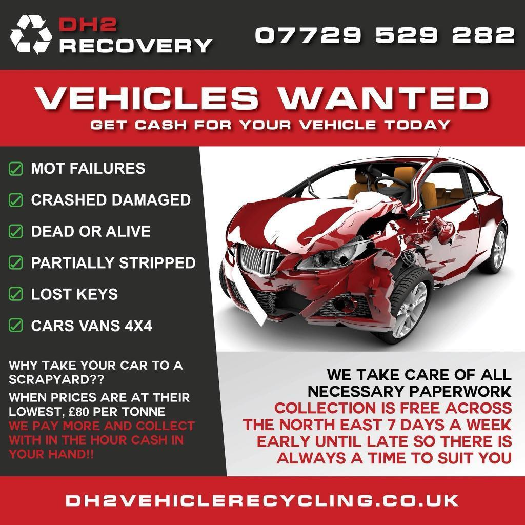 Get cash in your hand today for unwanted car van 4x4 spares or ...
