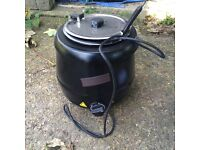 Brand New Soup Kettle. Ideal For Commercial Use Or Entertaining At Home And Christmas Parties