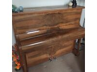 Upright Kemble piano for sale. Needs re-tuning & has some wear & tear scratches.