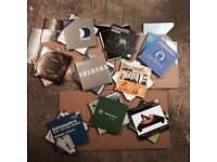 """Job Lot of 100 '90s Dance (Electronic / House / Trance) Records 12"""" Vinyl White Labels and Promos"""