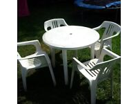 garden or patio table and chairs can deliver locally