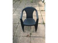 Garden chairs x 4