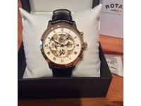Men's Skeleton Automatic Rotary Watch GS02375/1