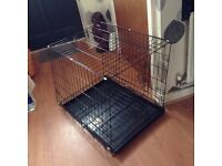 Training dog cage good condition