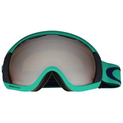 Oakley 59-145 Canopy Mint Leaf w/ Black Iridium Lens Unisex Snow Ski Goggles