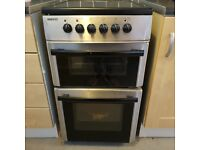 Beko black and silver electric cooker