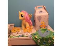 Build-A-Bear My Little Pony Fluttershy bundle