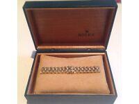 Gold rolex Bracelet