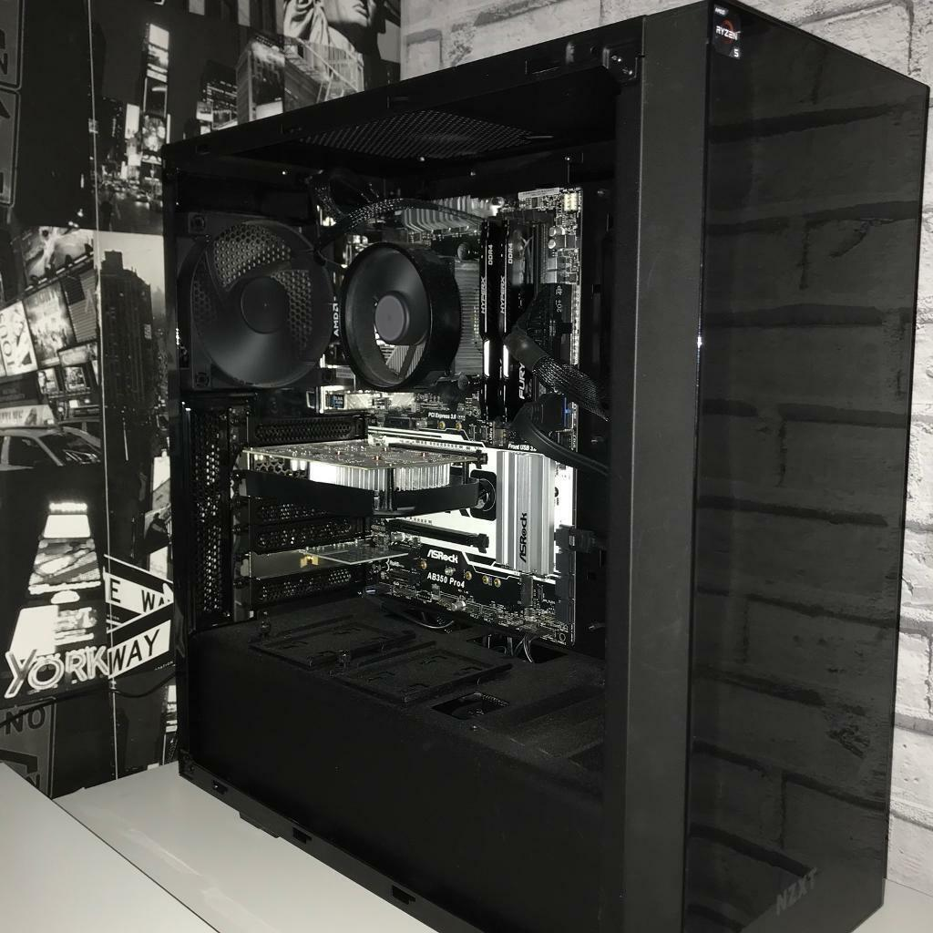 Ryzen 5 1600 Gaming PC/ Swap for PS4 Pro + Cash or £500
