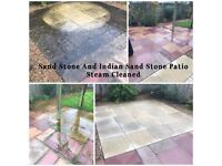 Driveway, Patio And Decking Steam Cleaning Services. Patio And Driveway Sealing