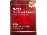 CGP GCSE Combined Science revision guide. For Edexcel (Grade 1-9)