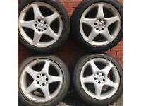 Mercedes Benz Vito alloys wheels & tyres Viano rims 235 50 alloys 5 spoke van