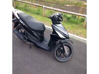 110 suzuki moped/scooter 2016 plate