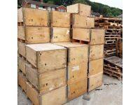 FREE & CHEAP Packing Crates - Boxes, storage, seating, chair, table, display, cafe, restaurant, bar