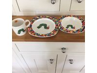 3 piece Hungry caterpillar set by Port Mereion