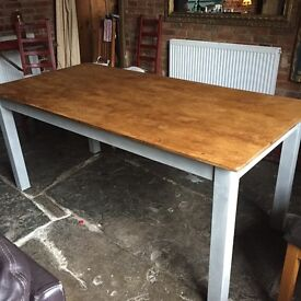 Solid beautiful pine table