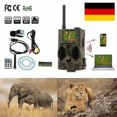 Überwachung Wild Jagd Kamera Infrarot Video Ton Kamera GPRS USB SD Haus Garten *