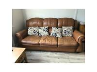Three seater settee 1 chair FREE