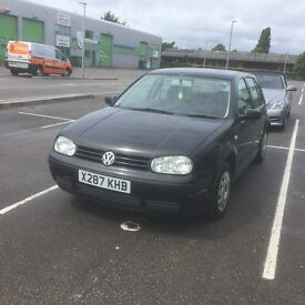 Vw golf diesel, lady owned from new with full service history