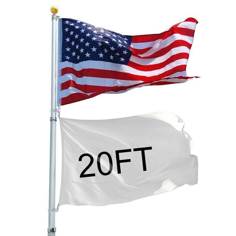 20Ft Telescopic U.S American Flag