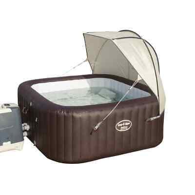 Bestway Lay-Z-Spa Spa Canopy Sunshield Canopy Hot Tub Sunshade Garden Backyard
