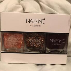 Nails Inc Polish - Set of 3