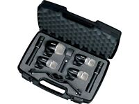 Shure PGDMK6 Microphone Mic Set for Drums and Other Instruments