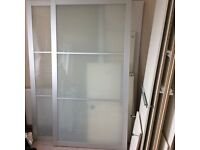 Ikea pax double sliding door armoire wordrobe