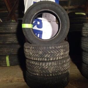 4x pneus hiver Goodyear 205/65R15