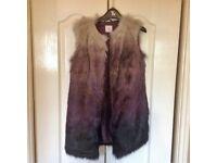 Ladies Fur Gilet (Size 10)