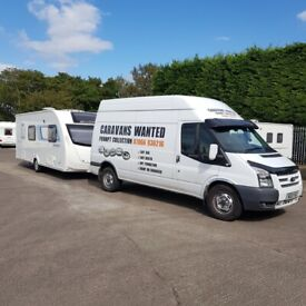 CARAVANS REQUIRED. SAME DAY COLLECTION SERVICE & INSTANT PAYMENT