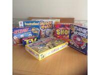 Bundle of 7 board games