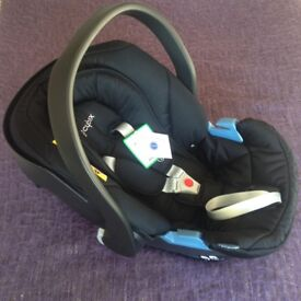 Cybex action car seat-from birth till 13kg (15 months). Still in box and not used.