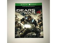 Gears of War 4 - XBOX ONE DIGITAL CODE