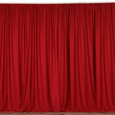 lovemyfabric 100% Polyester Window Curtain/Stage Backdrop/Photography - Curtain Background