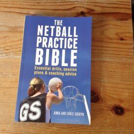 Netball coaching book