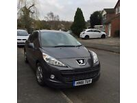 2011 PEUGEOT 207 GRAPHITE GREY 5DR VERVE CAT D NOW REPAIRED 36,000 MILES EXCELLENT CONDITION