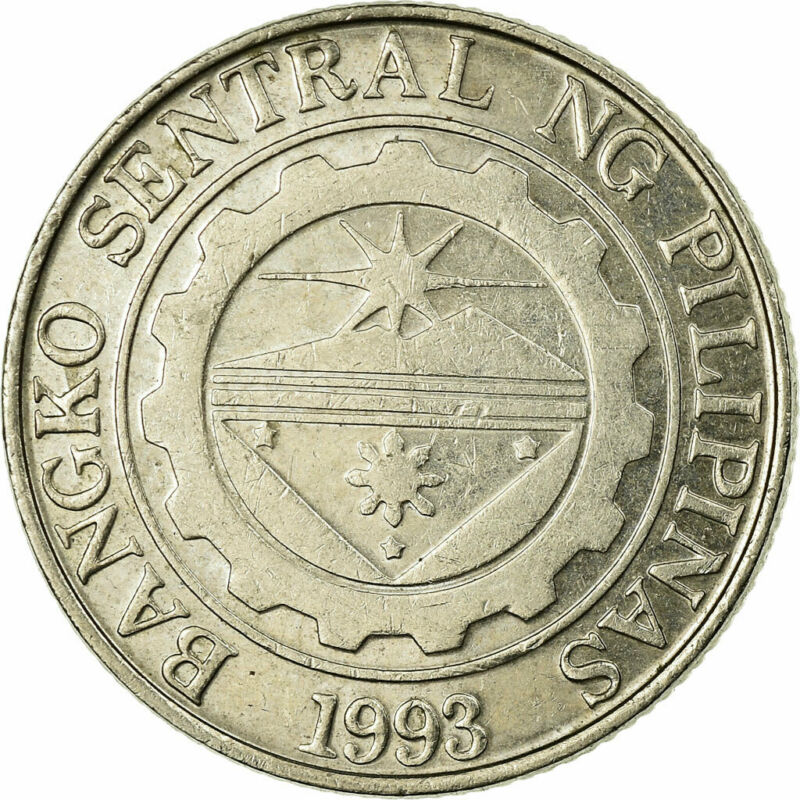 [#676196] Coin, Philippines, Piso, 2000, EF(40-45), Copper-nickel, KM:269