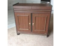PHILIPS HOSTESS TROLLEY. Heated trolley with four lidded serving dishes in the top.