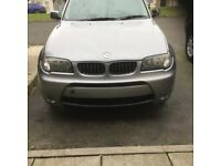 BMW X3 front bumper complete 2003 to 2007