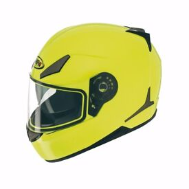 CLEARANCE NEW SPORT HELMET SHIRO WITH SUN INNER VISOR end of stock £30