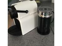 Krups coffee machine and milk frothy machine