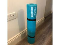 Core Balance Yoga Mat, Thick Foam 6mm