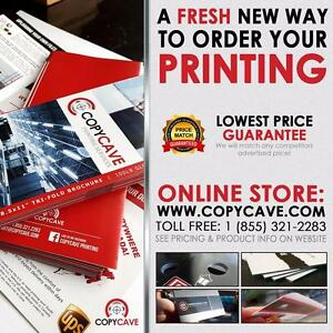 Printing - Lowest Price Guarantee - Business Cards, Flyers, Vinyl Banners, Lawn Signs, Stickers, Labels, and Much More!